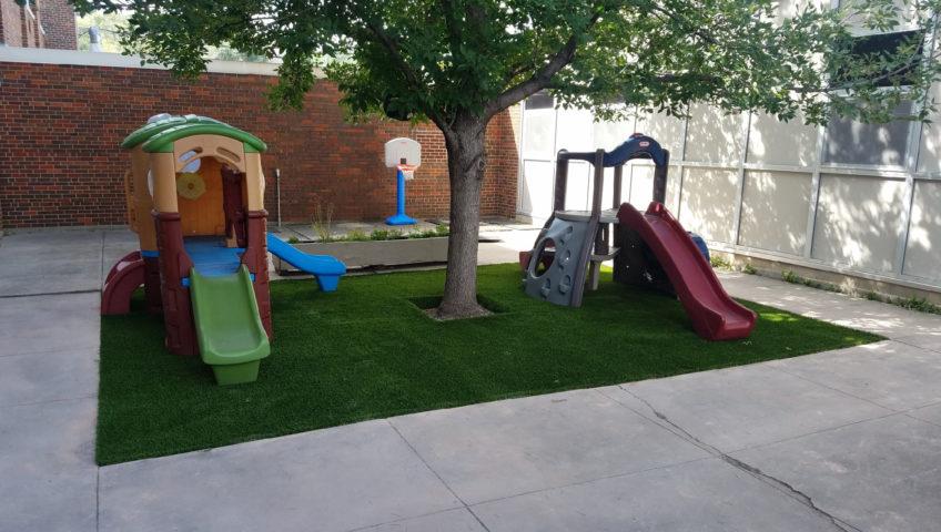 Commercial Landscaping Jefferson School