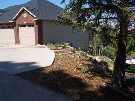 Landscaping Project - Cliff Drive